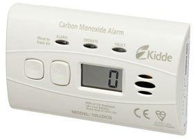 CARBON MONOXIDE ALARM 10YR DIGITAL BPSCA 10LLDCO - SR09364 By KIDDE