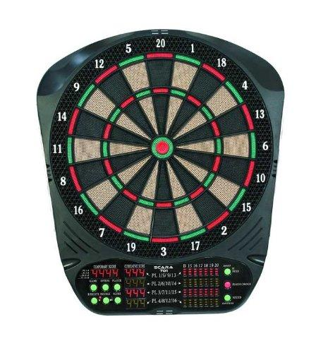 Carromco Electronic Dartboard Scara 701 with adapter, 92915