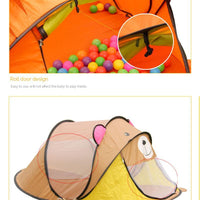 Cartoon Animal Toy Tents Children House Kids For Tent Indoor Outdoor Play  Tent Folding Baby Tent