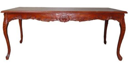 Casa-Padrino baroque dining table brown (mahogany color) 200 cm - baroque table antique style furniture