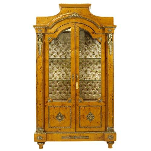 Casa-Padrino Empire display cabinet - wooden cabinet - living room cabinet baroque