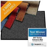 "casa pura Carpet Entrance Mat, Red (Mottled) 36"" x 118"" 