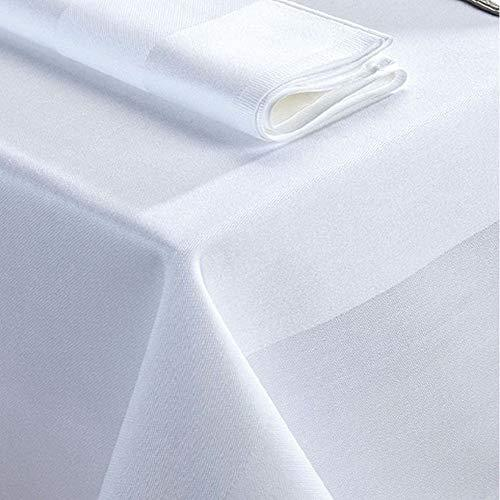Catering Tablecloths and Napkins - Cotton - Superior Satin Band - 54inch x 90inch