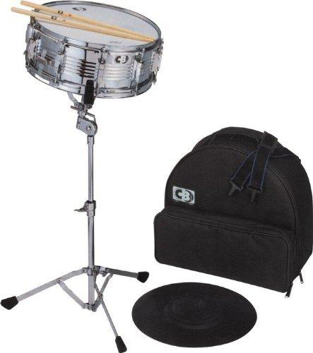 CB Drums IS678BP Delux Backpack Snare Drum Kit