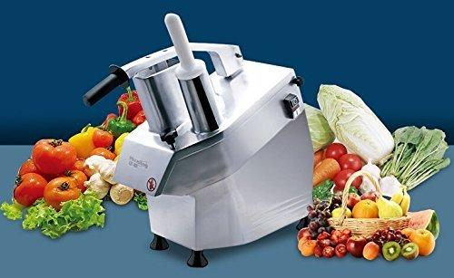 CGOLDENWALL Heavy Duty Commercial Vegetable Cutter Grater Shredder Food Processor with CE & ETL