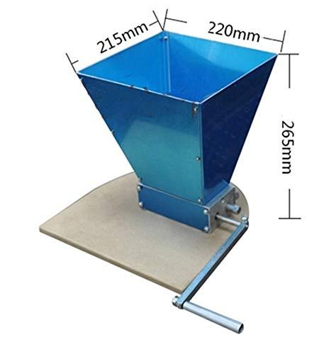CGOLDENWALL Stainless 2-Roller Grain Mill Adjustable Barley Crusher Malt  Mill Barley Grinder for Homebrew Wholesale & Dropshipping (with A Wooden