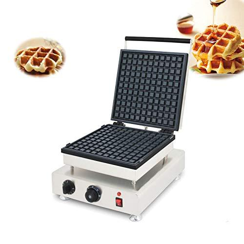 CGOLDENWALL Waffle Maker Iron Machine | Non-Stick Coating | Deep Cooking Plates | Adjustable Temperature Control | Stainless Steel Mould | 1800W High Power |110V 220V Electric (220V)