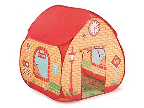 Children's Play Tent in Train Station Design