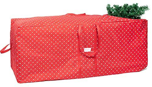 Christmas Tree Storage Bag.Christmas Tree Storage Bag Fits Trees Up To 12 Feet Durable With Easy To Roll Wheels And Snowflake Design Extra Large Xmas Holiday Tree Organizer