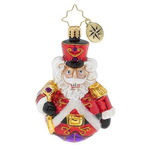 Christopher Radko Man Or Mouse, Nutcracker Gem Christmas Ornament, 3.250 Multicolor