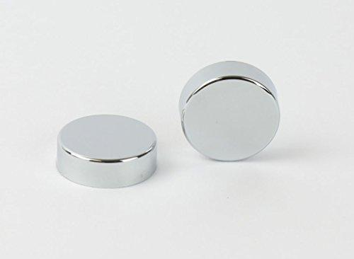 Chrome Cover Cap for Towel Rail Radiator blanking plug and air vent valves
