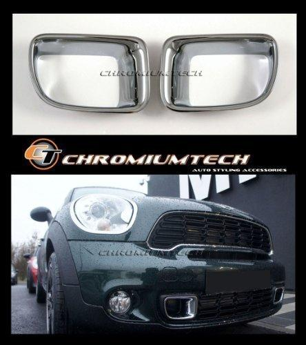 Chromiumtech ALC-MIN06 Front Air Intake Chrome Louver Surrounds