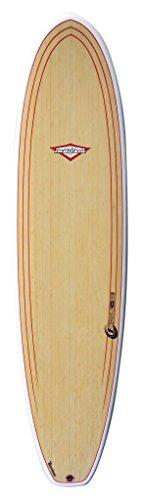 Circle One Bamboo Heritage Epoxy Surfboards - Bamboo, 6 ft 8-Inch