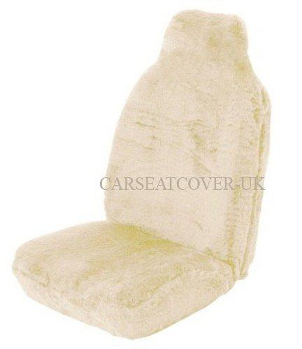 Citroen Berlingo Multispace (2008-) Sheepskin Faux Fur Car Seat Covers - Front Pair (Armrest Provision)