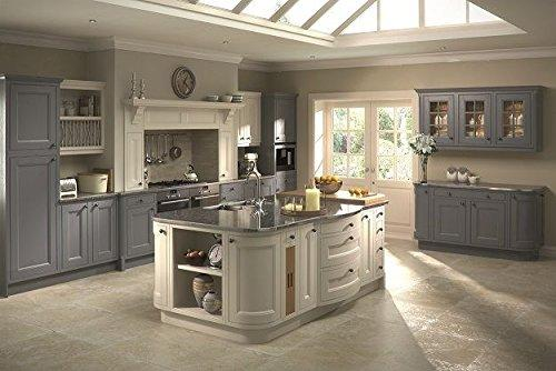 CK Kitchens Tetbury Painted French Grey (Bubidge) Kitchen units & doors Rigid Built Kitchens
