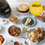 CleverChef 14 in 1 Intelligent Digital Multi Cooker - Rice Cooker Slow Cooker Steamer Soup & Bread Maker - 5 Litre 860W Chrome