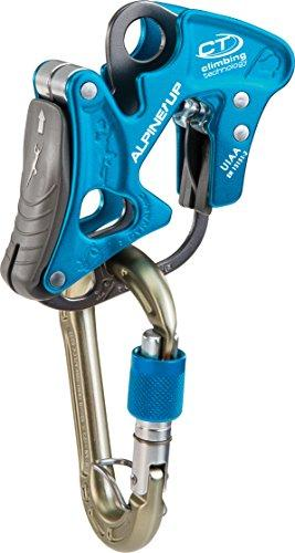 Climbing Technology Alpine Carabiner Insurer Discensore Up Function, Blue