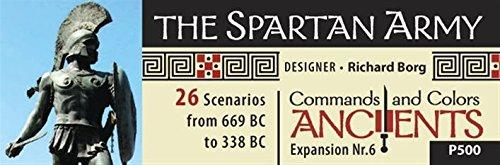 Commands & Colours Ancients Spartan Army