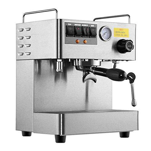 Commercial Office Espresso Machine Fully Automatic 3000W Steam High Pressure Italian Coffee Machine