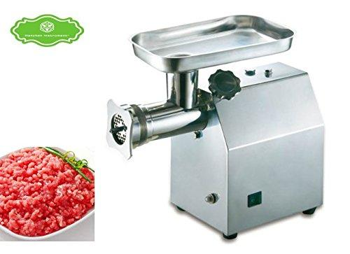 Commericial Stainless Steel 2 Sets KnivesElectric 150KG/H Table Meat Grinder Mincer Automatic Meat Cutting Machine (110v, QJH-C15A)