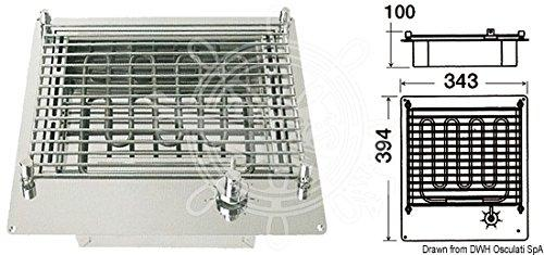 Compact electric barbecue
