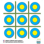 Concept Sports Shooting Game – Set of Four Coat for Archery Crossbow and Reinforced Paper Size 80x80 cm
