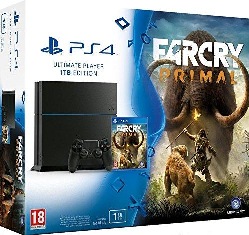 Console Playstation 4 Ps4 1 Tb Black + Far Cry Primal