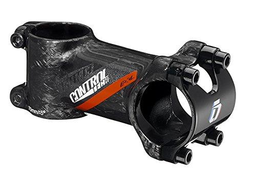 ControlTech Exl Al6061 + Ud Carbon Stem, 80mm, +/5 Degree, Glossy black, Red Decal