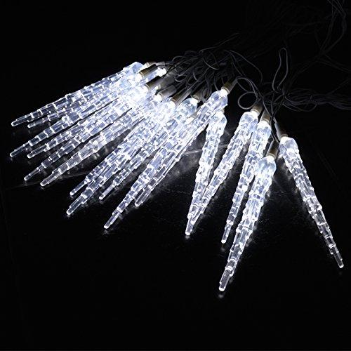 cool white 10 metre led icicle lights high quality outdoor led icicle lights which are