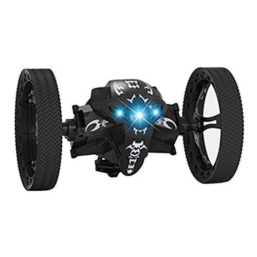 Coomir Leaping Dragon 2.4G RC Bounce Car with LED Night Lights Kids Toys Birthday