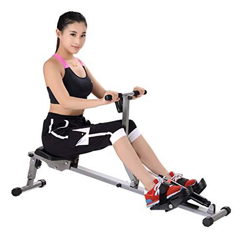 Core & Abdominal Trainers Built-in twist seat rowing machine home indoor hydraulic resistance rowing machine belly rowing machine abdominal fitness home (Color : Black, Size : 126 * 30 * 50cm)