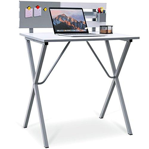 COSTWAY Computer Desk Writing Table Office Home Workstation X-Shape Cross Legs Wooden Furniture (Style C)