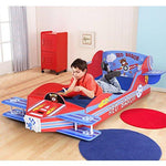 COSTWAY Kids Bed Wooden Toddler Junior Airplane Plane Themed Beds Furniture Home Indoor 185 x 111cm (Airplane)