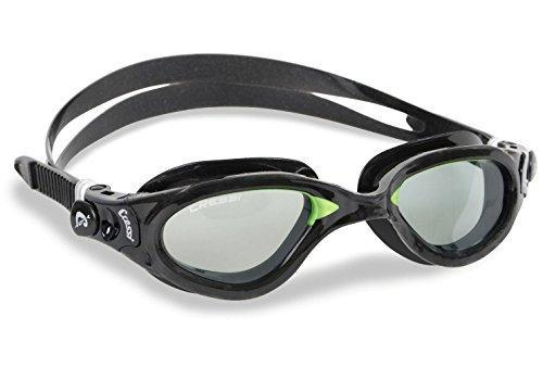 Cressi Flash Swim Goggles Adult - Swimming Goggles For Men - Anti Fog Lens (also Mirrored) - Made in Italy - with Case by Cressi