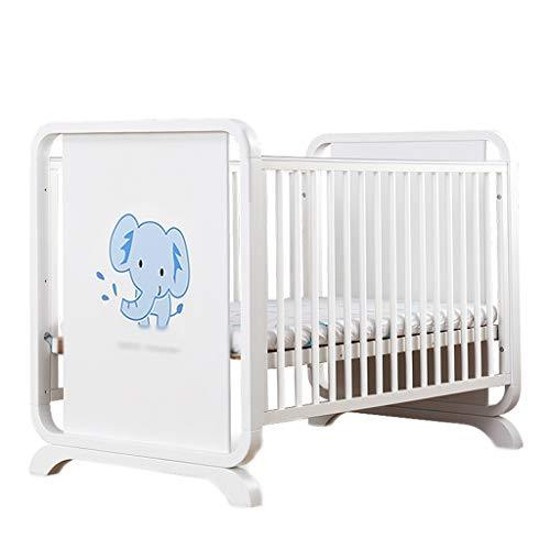 Crib Baby Cot Solid Wood Multifunction Game Bed Splicing Bed Writing Desk