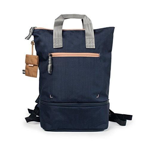 Crumpler DZPBP-008 Doozie Photo Camera Backpack with 10-Inch Tablet Compartment - Navy/Copper