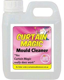 Curtain Magic Instant Black Mould & Mildew Remover Spray Cleaner (1 Litre)