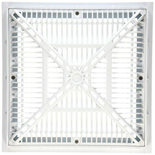Custom Molded Products 25508-120-000L 12-Inch by 12-Inch Frame/Grate Pool Drain