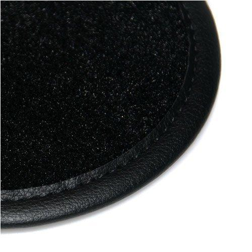 CX-5 (2012 Onwards) Perfect Fit Black Velour Carpet Car Floor Mats with Black Leather Trim