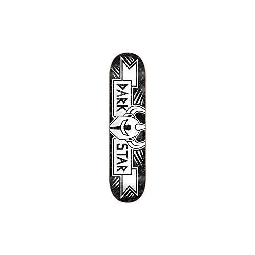 Darkstar Grand Black Skateboard Deck - 8.25""