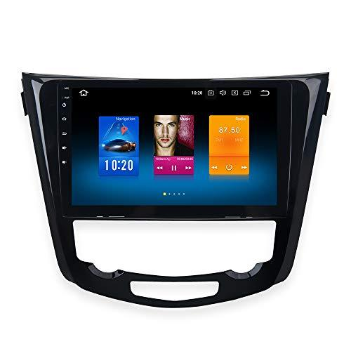 "Dasaita 10.2"" Android 8.0 Car Stereo Radio for Nissan X-Trail Qashqai Rouge GPS Navigation Octa Core 4GB RAM 32GB ROM Head Unit (Nissan X-Trail Rogue Without Screen or with 4.3 inch Screen)"