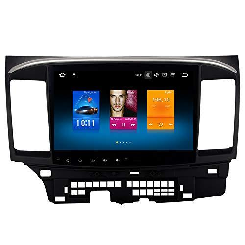 Dasaita 10.2 Inch IPS Screen Android 8.0 Car Stereo for Mitsubishi Lancer without Factory Rockford System 2008 to 2017 GPS Navigation Audio Radio Sat Nav Head Unit