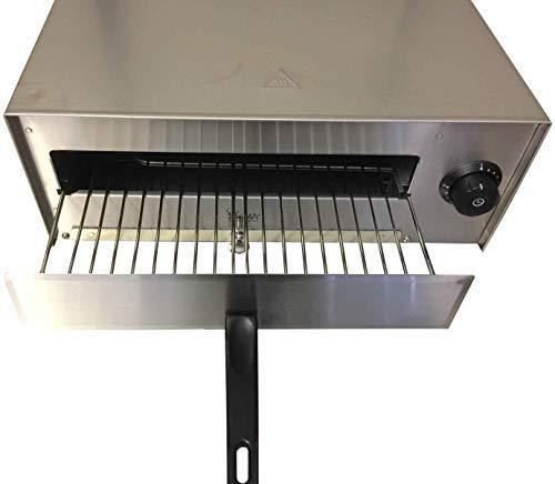 Davlex Commercial Pizza Oven, Electric Snack Grill 12 Inch Stainless Steel Toaster Oven