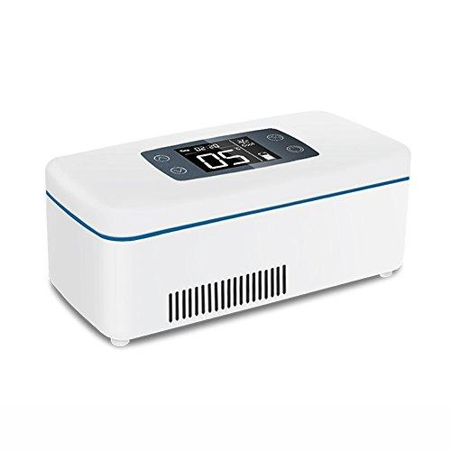 DAWNG-13 Portable Insulin Refrigerated Box,MINI Medicine Cooling Case,Use in Drug Refrigerated, Freezer with Advanced Temperature Control System Ideal for Travel,Work,Drive,Take Plane