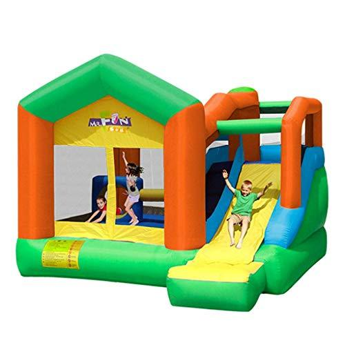 Daxiong Children's Playground Home Indoor Inflatable Toys Baby Inflatable Toy Pool Castle Outdoor Large Naughty Castle,355x400x275cm