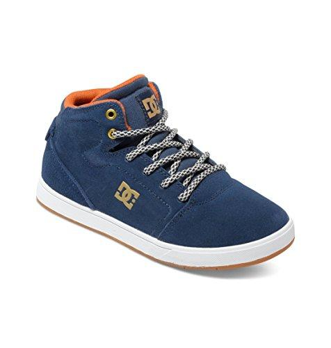 DC Shoes Boys' Crisis High Trainers Blue Size: 5.5 UK