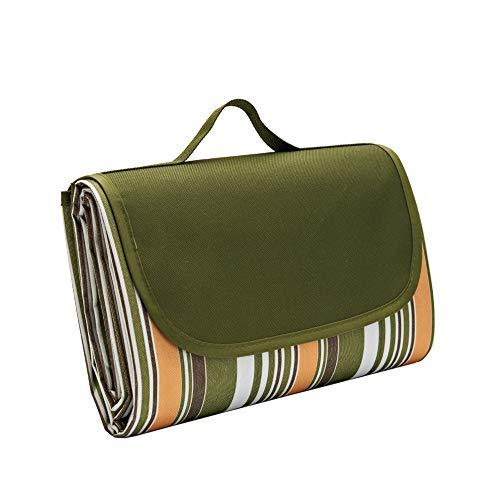 DDDD store Large Outdoor Picnic Blanket,145 X 200 CM Water-Resistant Handy Mat Tote Great for the Beach,Camping Travelling on Grass Waterproof Sandproof