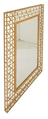 "Deco 79 Metal Wall Mirror 36"" W, 48"" H-67064, 36"" x 48"""