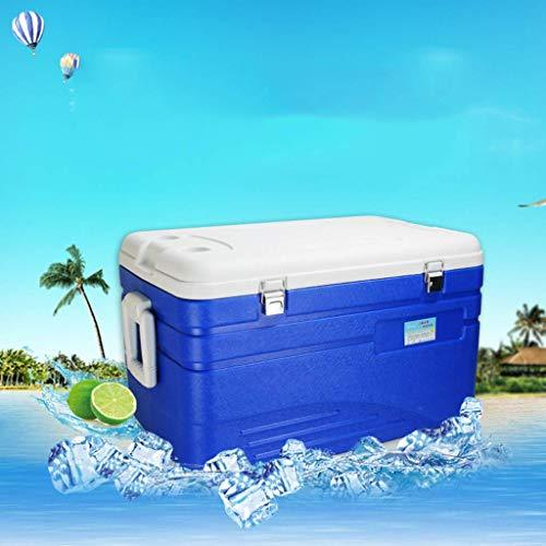 DEE Car Refrigerator-Cooler Box 110L Deep Freeze Zipperless Hardbody Cooler - 120 Hours Insulation- Performance Beer Beverage for Camping, Bbqs, Tailgating & Outdoor Activities