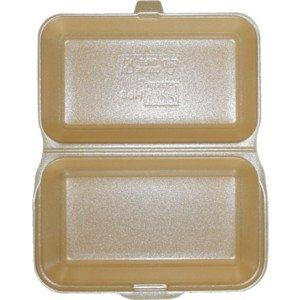 Deli Supplies 250 x Hb10/TT10 Large Polystyrene Fish & Fries Box Burger & Chips Box Fp10